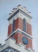 Kirkland Painting Prints - Kirkland Tower II Print by Dillard Adams