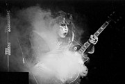 Ace Frehley Posters - Kiss 5  Poster by Joe  Gliozzo
