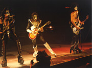 Paul Stanley Prints - Kiss-b33a Print by Gary Gingrich Galleries