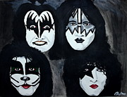 Kiss Paintings - Kiss by Barbara Giuliano