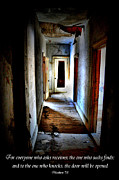Abandoned Houses Prints - Kiss It Cancer 2 Print by Emily Stauring