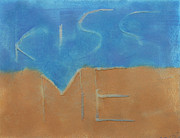 Siena Paintings - Kiss Me 2 by Jorge Berlato