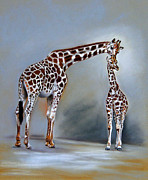 Tender Pastels - Kiss by Nancy L Baker
