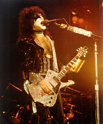 Paul Stanley Prints - KISS-Paul-Solo Print by Gary Gingrich Galleries