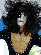 Paul Stanley Prints - Kiss-the Hairy Chest Print by Ed Weidman