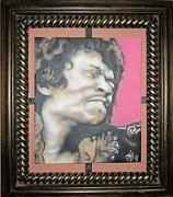 Jimmy Hendrix Paintings - Kiss the Sky by John Sodja