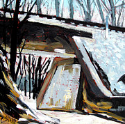 Concrete Paintings - Kissime Underpass by Charlie Spear