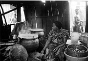 Porridge Photos - Kitchen and Fat Pots by Muyiwa OSIFUYE