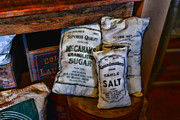Vintage Items Posters - Kitchen - Food - Sugar and Salt Poster by Paul Ward