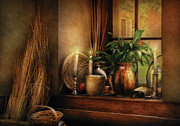 Old Pitcher Photos - Kitchen - One fine evening by Mike Savad