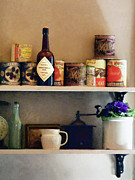 Grinders Photos - Kitchen Pantry by Susan Savad