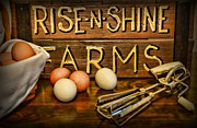 Kitchen  Rise And Shine Print by Paul Ward