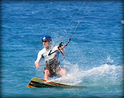 Lori Seaman - Kite Surfer in Hawaii