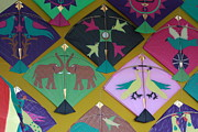 Kites Mixed Media - Kites by Indrani Ghose