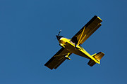 Single-engine Framed Prints - Kitfox over the Snake River Framed Print by John Daly