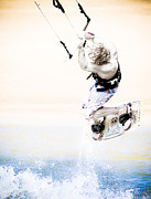 Kiting Framed Prints - Kiting Framed Print by Ian Wickison