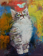 Michael Creese - Kitten and Butterfly