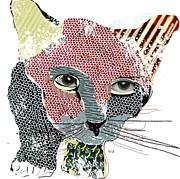 Kitten Graffiti Print by Bri Buckley