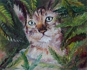 Cute Kitten Originals - Kitten by Irene Pomirchy