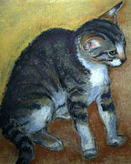 Kitten Prints - Kitty Kitty Print by Carol Jo Smidt