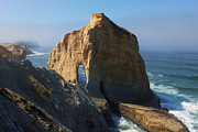 Cape Photos - Kiwanda Mist by Mike  Dawson