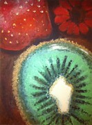 Kiwi Painting Prints - Kiwi Print by Corbin Runnels