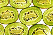Kiwi Art Digital Art Framed Prints - Kiwi fruit II Framed Print by Paul Ge