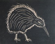 Kiwi Painting Originals - Kiwi by Jennifer McGee