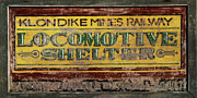 Locomotive Metal Prints - Klondike Mines Railway Metal Print by Priska Wettstein