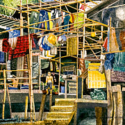 Klong House Print by Andre Salvador