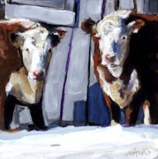 New England Paintings - Knee Deep by Molly Poole