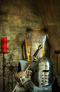 Camelot Metal Prints - Knight - A Warriors Tribute  Metal Print by Paul Ward