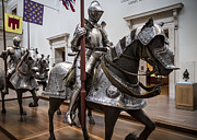 New York  The Metropolitan Museum Of Art Posters - Knight in Armor  Poster by Tim  Fitzwater