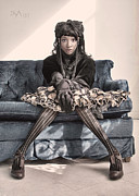 Steampunk Photos - Knock Kneed by David April