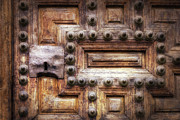 Entrance Door Photos - Knock Three Times by Joan Carroll