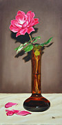 Knockout Paintings - Knockout Rose by Jimmie Bartlett