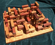 Wood Sculptures - Knossos by Dave Martsolf