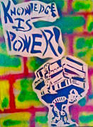 Knowledge Is Power 2 Print by Tony B Conscious