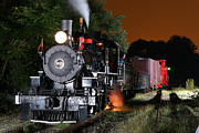 Old Caboose Photos - Knoxville Steam by Joseph Hinson