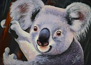 Koala Paintings - Koala Bear by Shirl Theis