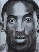 Kobe Bryant Print by Aaron Balderas