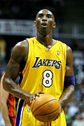 Kobe Bryant Photos - Kobe Bryant by Mountain Dreams