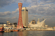 Kobe Photos - Kobe Meriken Park by Markus Hovikoski