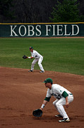 Baseball Field Framed Prints - Kobs Field MSU Framed Print by John McGraw