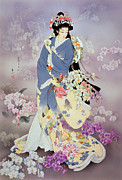 Adult Digital Art Prints - Kochouran Print by Haruyo Morita