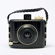 Rangefinder Photos - Kodak Baby Brownie by Elena Bouvier
