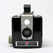 Aperture Photos - Kodak Brownie Hawkeye by Elena Bouvier