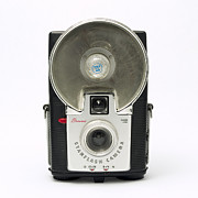 Aperture Photos - Kodak Brownie Starflash by Elena Bouvier
