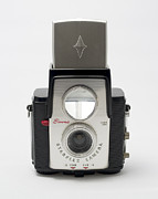 Aperture Photos - Kodak Brownie Starflex by Elena Bouvier