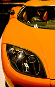 Orange Car Art - Koenigsegg CCX by Phil